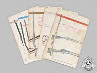 Canada, United Kingdom. Five Historical Arms Series Publications