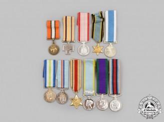 United Kingdom, Canada, International. A Lot of Eleven Miniature Awards