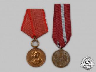 Bulgaria, Kingdom. Two Commemorative Medals