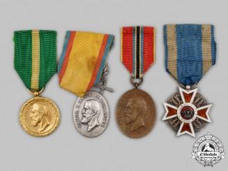 Romania, Kingdom. Four Awards & Decorations