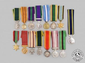 United Kingdom, Canada, United Nations. A Lot of Fifteen Miniature Awards