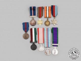 United Kingdom, Canada, International. A Lot of Nine Miniature Awards