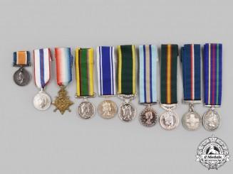 United Kingdom, Canada. A Lot of Ten Miniature Awards