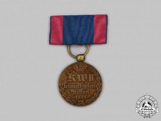 Hesse-Kassel, Landgraviate. A War Commemorative Medal for Combatants of 1814-1815