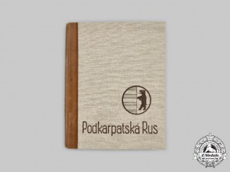 Czechoslovakia, I Republic. A 1936 Edition of Podkarpatská Rus