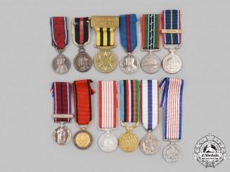 United Kingdom, Australia, Canada. A Lot of Twelve Miniature Awards
