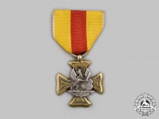 Baden, Grand Duchy. An Officer's Long Service Class, II Class, Type II Miniature