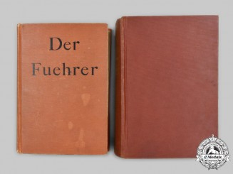 Germany. An English-Language Edition of Mein Kampf, with AH Political Biography