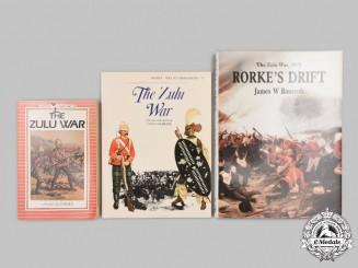 United Kingdom. Three Zulu War Books