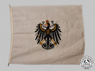 Prussia, Kingdom. A Late-Period Prussian Flag