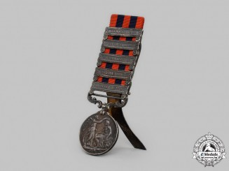 United Kingdom. An India General Service Medal with Easel, 27th Punjab Infantry