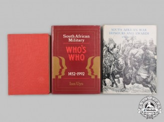 South Africa, Republic. Three Military Themed Books