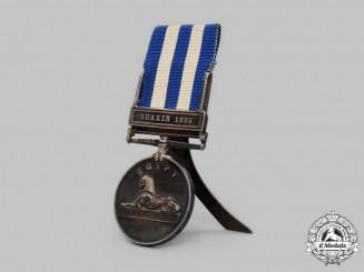 United Kingdom. An Egypt Medal 1882-1889, 2nd Battalion, East Surrey Regiment