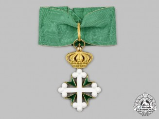 Italy, Kingdom. An Order of Saints Maurice and Lazarus in Gold, III Class Commander, c.1900