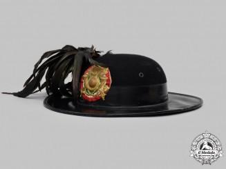 Italy, Kingdom. A 1st Bersaglieri Regiment Moretto Hat