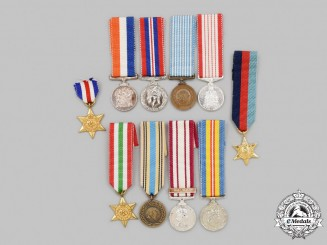 United Kingdom, Canada, South Africa, United Nations. A Lot of Ten Miniature Awards