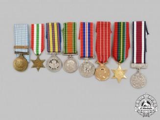United Kingdom, Canada. A Lot of Eight Miniature Awards
