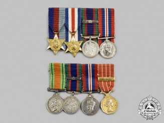 Canada, Commonwealth. Two Second War Miniature Groups