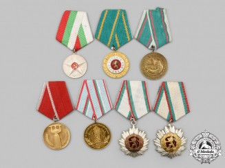 Bulgaria, People's Republic. A Lot of Seven Awards