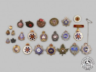 Canada. A Lot of Twenty-Four Lapel Badges