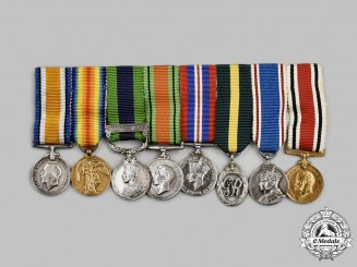 United Kingdom. A First War & Second War Constabulary Miniature Group