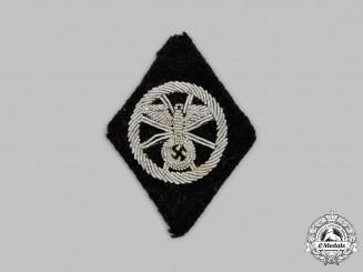 Germany, SS. An SS-Totenkopfverbände Former NSKK Member's Sleeve Diamond