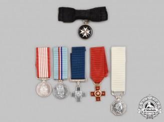 United Kingdom, Canada. A Lot of Six Miniature Awards