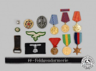 Germany, Third Reich. A Lot of Fourteen Mostly Post-1945 Manufactured Items
