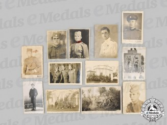 Yugoslavia, Serbia. Twelve Chetnik Photographs