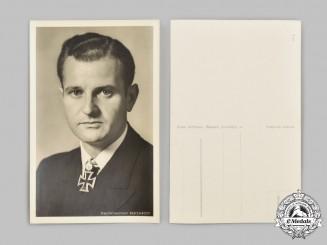 Germany, Kriegsmarine. A Kapitänleutnant Heinrich Bleichrodt Wartime Postcard