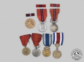 Czechoslovakia, Socialist Republic. A Mixed Lot of Medals