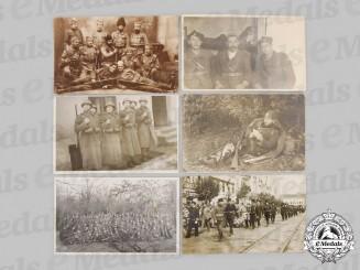 Yugoslavia, Serbia. Six Chetnik Soldier Photographs