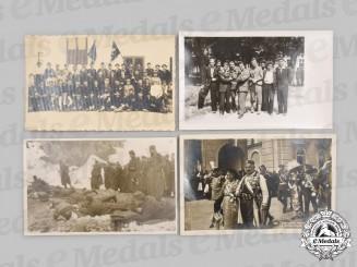 Yugoslavia, Serbia. Four Chetnik Photographs