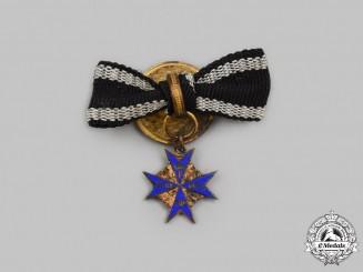 Prussia, Kingdom. A Pour le Mérite, Miniature Version, c. 1917