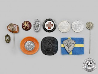Germany, Third Reich. A Mixed Lot of Badges and Coins