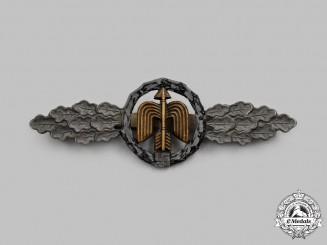 Germany, Luftwaffe. A Short-Range Night Fighter Flying Clasp, Silver Grade