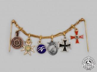Germany, Federal Republic. A Miniature Award Chain