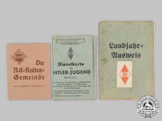 Germany, Third Reich. A Mixed lot of Membership Booklets
