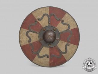 Germany, SS. A Viking Shield, Displayed in Wewelsburg Castle, by Gustav Görsch