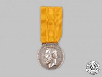 Baden, Grand Duchy. A Silver Merit Medal