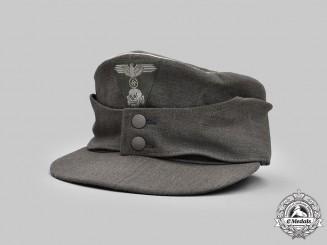 Germany, SS. A Late-War Waffen-SS Officer's M43 Field Cap