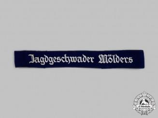 """Germany, Luftwaffe. A Jagdgeschwader 51 """"Mölders"""" Cuff Title"""