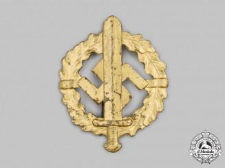 Germany, SA. A SA Sports Badge, Gold Grade, by Otto Fechler
