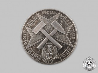 Germany, HJ. A Mine Rescue Merit Badge in Silver, by the Prussian Mint
