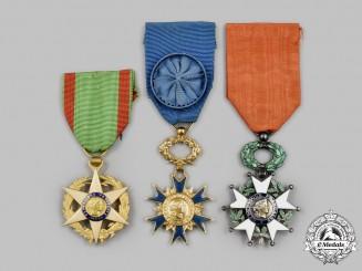 France, III, IV &  V Republics. A Lot of Three Orders