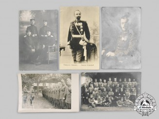 Europe. A Mixed Lot of Wartime Photos and Postcards