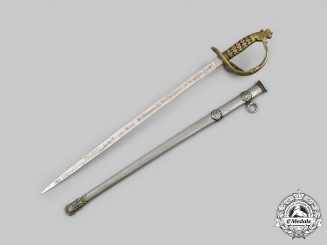 Germany, Imperial. A Patriotic Miniature Sword