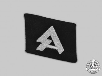 Germany, SS. An 18th SS Volunteer Panzergrenadier Division Horst Wessel Collar Tab