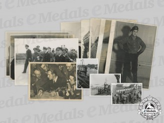 Germany, Kriegsmarine. A Collection of Photos of U-Boat Commander Reinhard Suhren (KC with Swords)