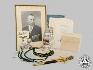 Germany. The Estate of Wilhelm Langert, Bavarian Uhlan and Forest Service Veteran